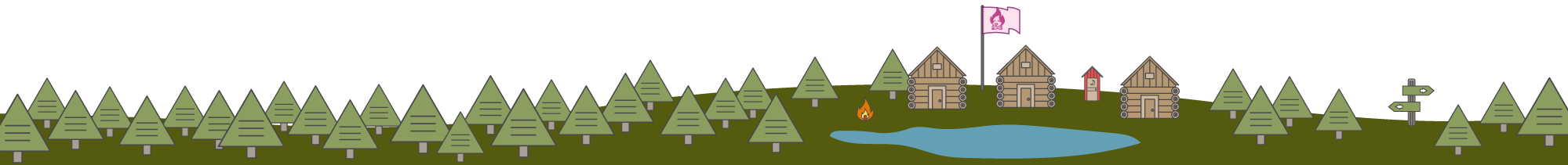 Camp Illustration